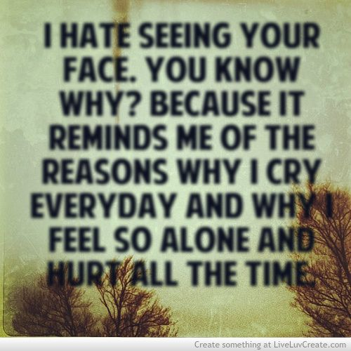 I Feel So Alone Quotes: Cry Quotes, Alone Quotes And Faces On Pinterest