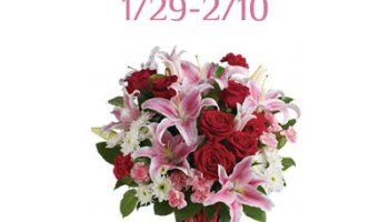 Teleflora $75 Valentines Giveaway Ends 2/10