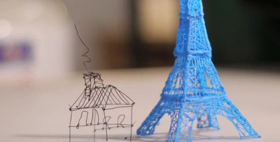 El nuevo bolígrafo que dibuja en 3D