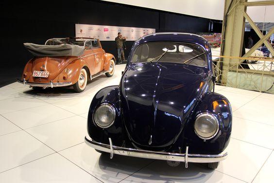 1949 Volkswagen Beetle & 1950 Volkswagen Beetle Cabrio