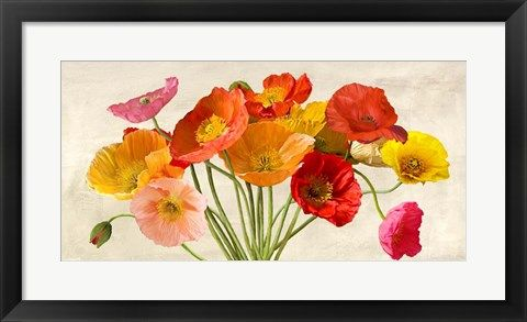 Poppies In Spring By Luca Villa Watercolor Poppies Flower Art Art