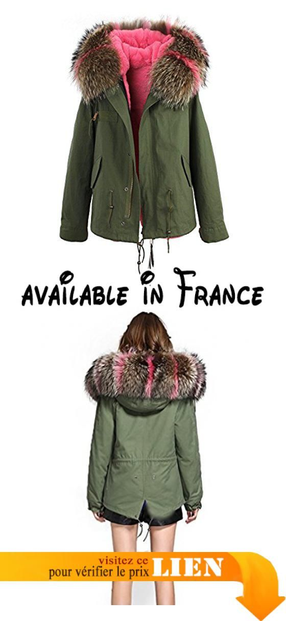 YXP Mens Winter Thicken Cotton Military Parka Jacket with Removable Hood