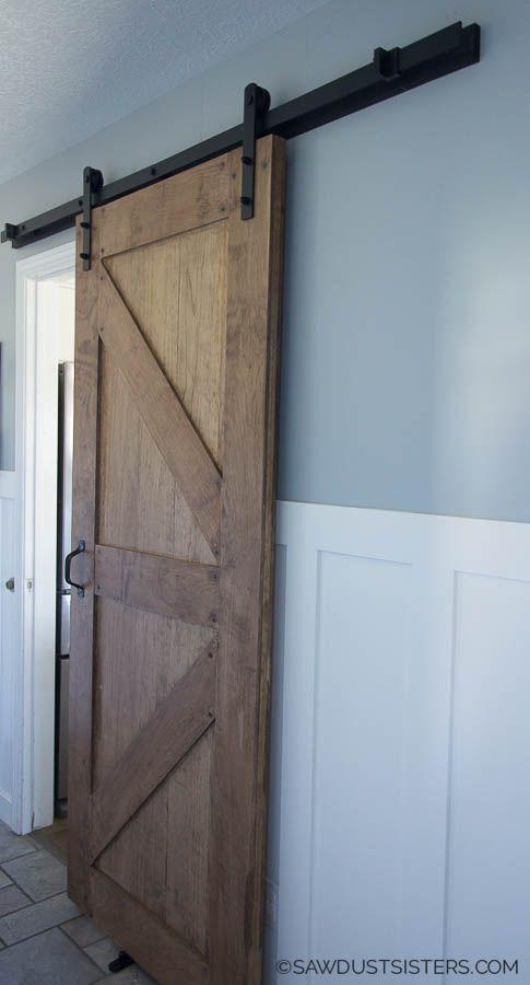 How To Build A Two Sided Barn Door Barn Door Rustic Doors Barn Door Designs