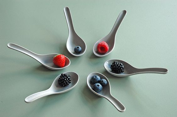 A-muze / set of 6 spoons / biobased bamboo fiber  #zuperzozial #amuze