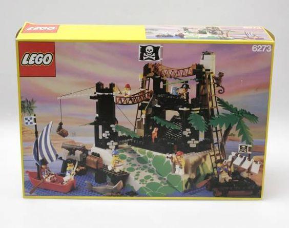 lego set 6273 pirateninsel ovp anleitung nicht kompl. Black Bedroom Furniture Sets. Home Design Ideas