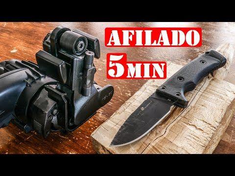 Afilar Cuchillos Hachas O Navajas Super Afilado En 5 Minutos Youtube Cuchillos Navaja Hachas