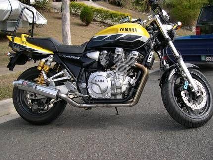 2001 xjr1300 muscle bike