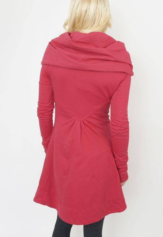 PRAIRIE UNDERGROUND : Victorian Velvet. I own this exact hoodie. http://www.prairieunderground.com