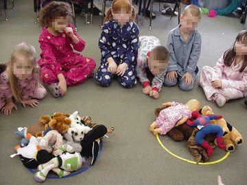 Classroom Pajama party ideas. Terrific! Has books and ...