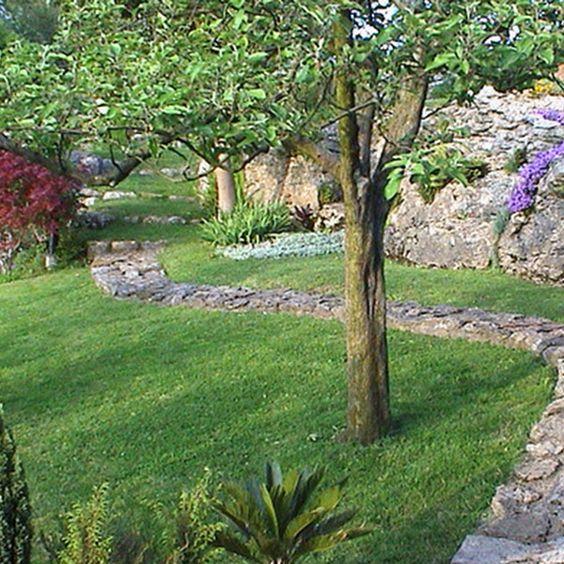 La poda en verde de rboles frutales integrados en el jard n - Arboles ornamentales para jardin ...