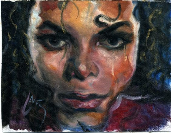 michael jackson art by dan lacey