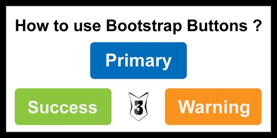 How to use bootstrap buttons