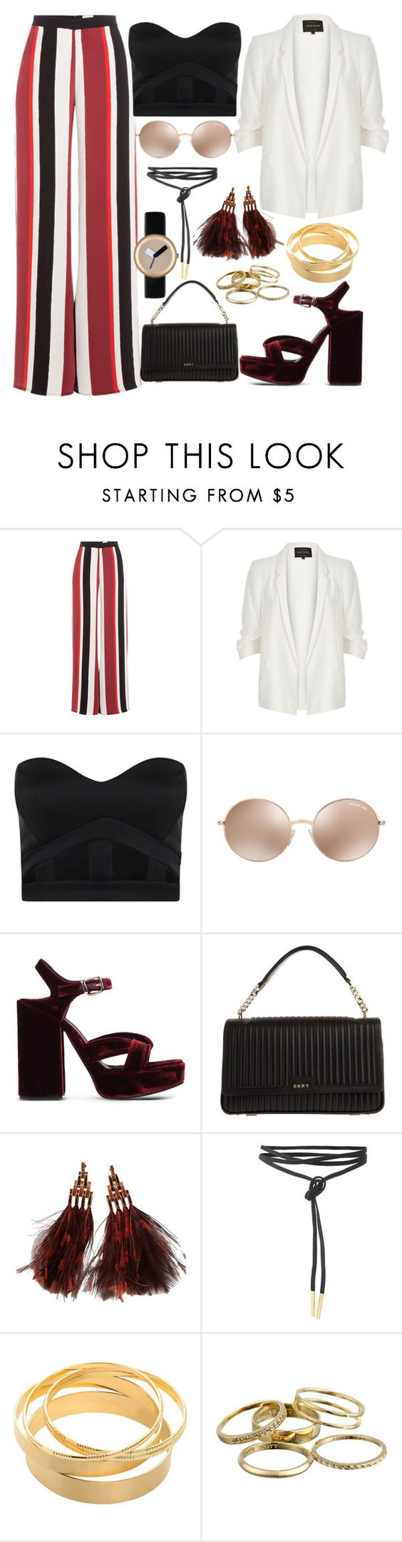 BBHMM by joslynaurora on Polyvore featuring mode, Boohoo, River Island, Zeus+Dione, Jil Sander, DKNY, Louis Vuitton, Nomad, Kendra Scott and Michael Kors