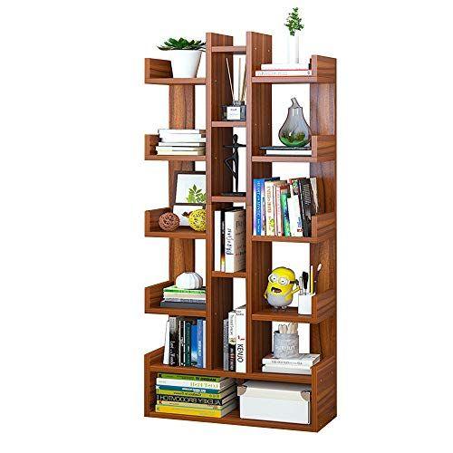 Tzamli Book Shelf 6 Layer Multi Function Storage Shelf Bookcase