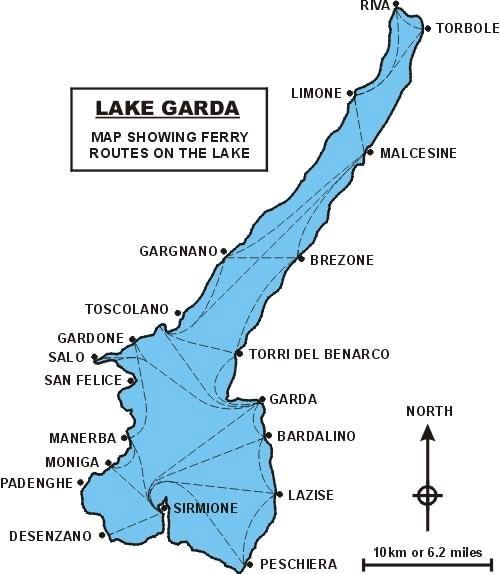 Lake Garda Ferries And Boat Rides Lake Garda Lake Garda Italy