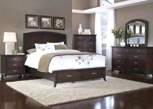 Grey Bedroom Walls With Cherry Furniture Cherry Bedroom Furniture Dark Bedroom Furniture Bedroom Furniture Sets