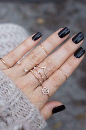 Diamant Ring Roségold