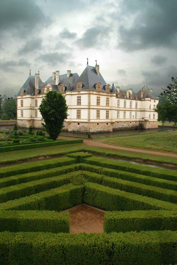 Chateau of Cormatin, Bourgogne, France