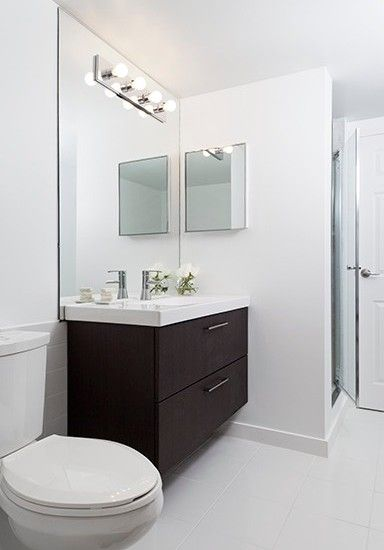 Modern Bathroom Condominium Design, Pictures, Remodel, Decor and Ideas - page 4