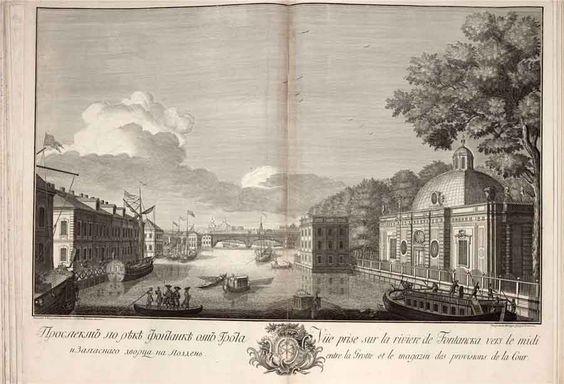 Махаев Михаил Знатнейшие проспекты Петербурга 1753 года: