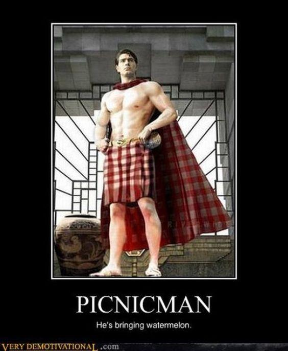 Picnic man