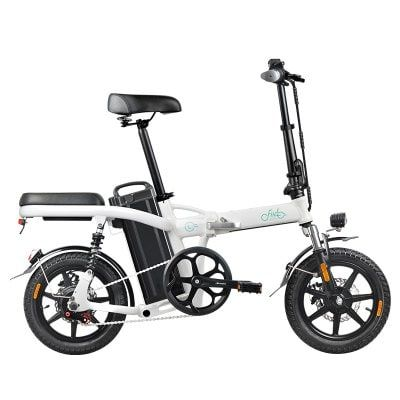 Fiido L2 14 Inch Electric Bicycle Smart 20ah Folding Moped E Bike