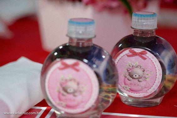 Ursinhas em Vermelho & Rosa