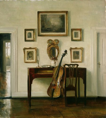 Carl Holsøe 'The Music Room' oil   Flickr - Photo Sharing!