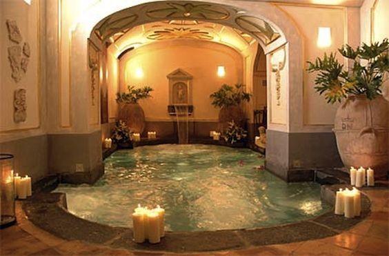 Pin By Manuel Ramirez On G O D D E S S Hot Tub Room Jacuzzi Room Big Houses