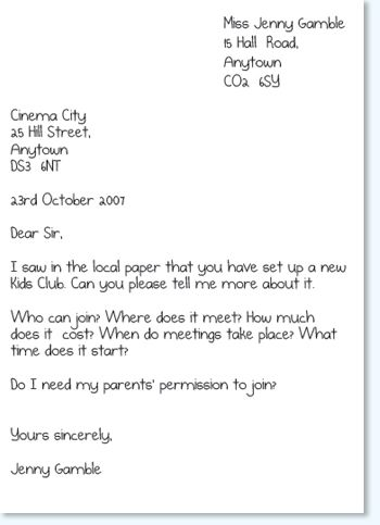 An Introduction to Letter Writing. Good ideas in here for practicing hand writing.