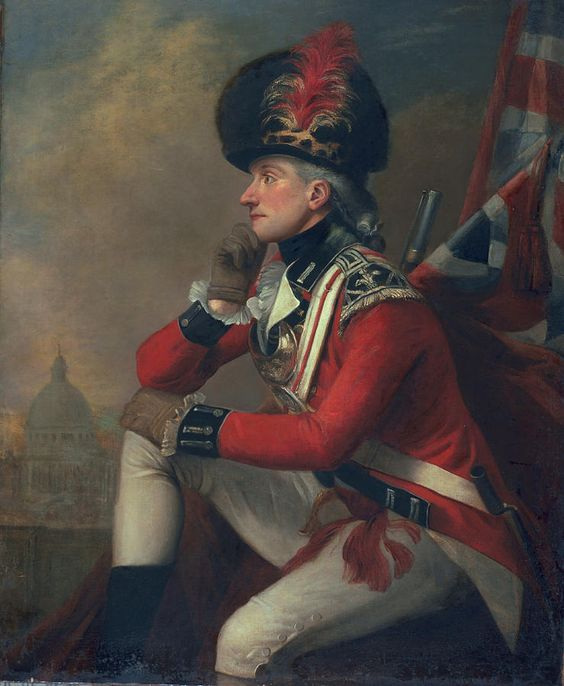 A soldier called Major John Andre:    English School: