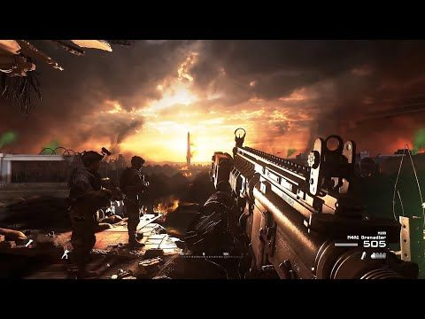 Dangerous Night Assault To Reoccupy The White House Call Of Duty Modern Warfare 2 Remastered Youtube In 2020 Modern Warfare Call Of Duty Warfare