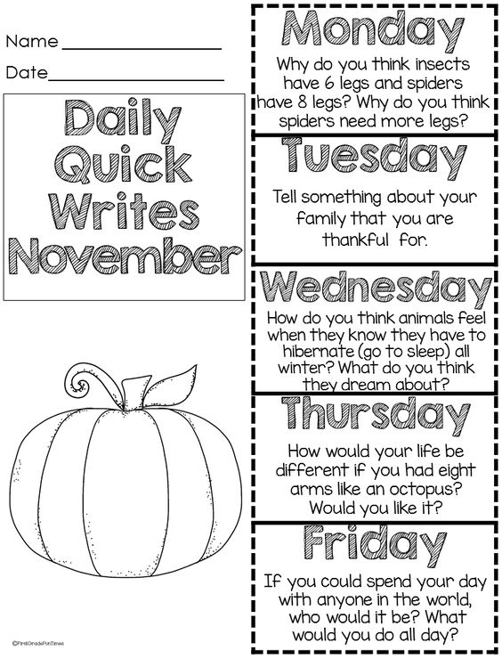 Quick Writing Prompts For 2nd Grade Laneysatthelakescom Essays