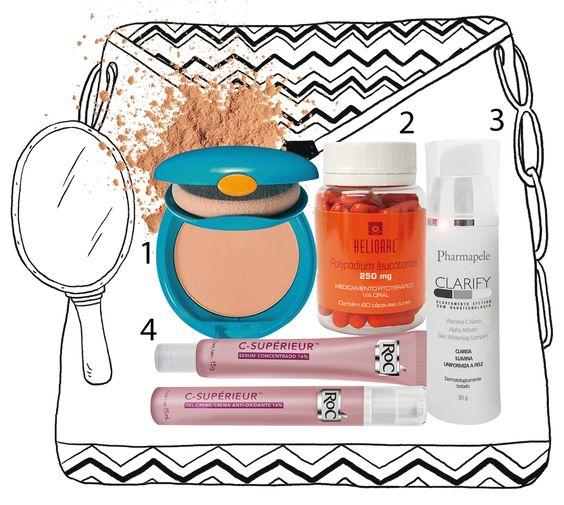 4 produtos para combater manchas do rosto