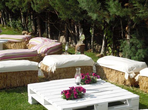 8 ideas para montar un espacio chill out en la boda