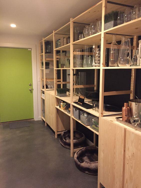 My mudroom pantry update using ikea ivar storage system for Mudroom pantry