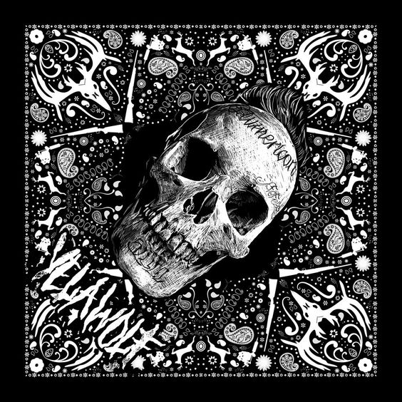 yelawolf skull bandana slumerican stuff to buy pinterest products skulls and bandanas. Black Bedroom Furniture Sets. Home Design Ideas