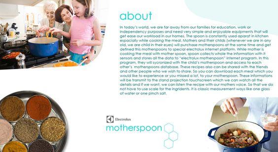 Electrolux Motherspoon Recipe Appliance by Okan Akgöl » Yanko Design