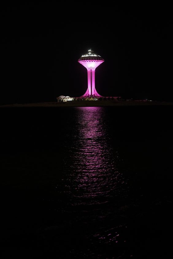 The Water Tower On The Al Khobar Corniche Saudiarabia Holdinn Booking Hotels Near Famous Hotels At Http Www Holdinn Com Hot Water Tower Al Khobar Tourism