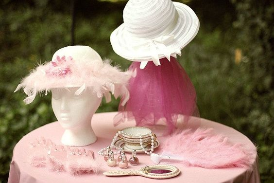 great ideas for a little girls tea party dress up home and tea parties. Black Bedroom Furniture Sets. Home Design Ideas