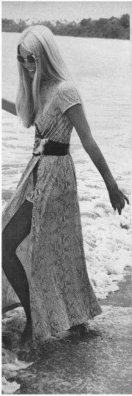 Gunilla Lindblad Vogue 1971:
