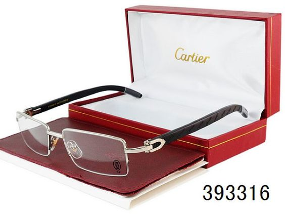 Fake Cartier Eyeglasses Wholesale-173 Frame me ...