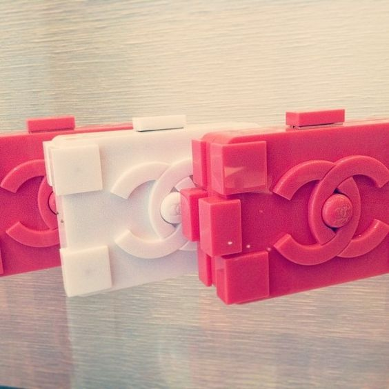 Chanel Lego Clutch Karl lagerfeld at it again. Leggo!