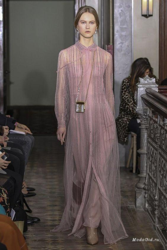 Женская мода: Valentino, Pre-Fall 2017