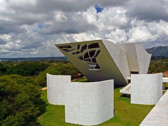 Panteão da Pátria - Oscar Niemeyer - Brasilia - Brasil - Brazil   Flickr - Photo Sharing!