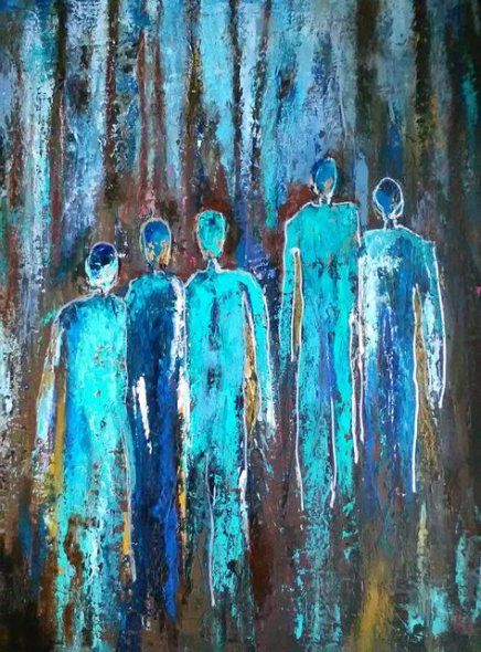 Best painting people abstract medium 37+ ideas #painting
