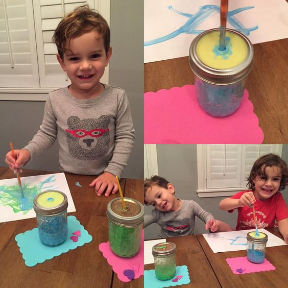 """belledity on Instagram: """"Little artists and their @themasonbarcompany cups! No drips just art #mbcchallenge"""""""