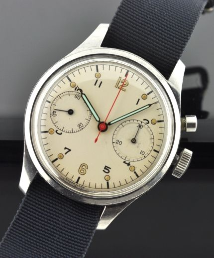 RCAF Rodania Chronograph Military Watch | ├ WATCHES ...