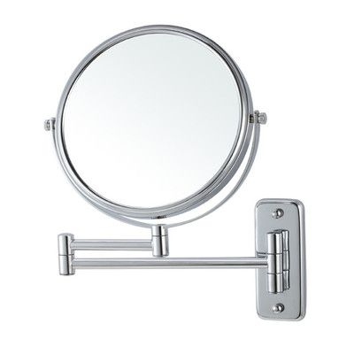 Glimmer by Nameeks Wall Mounted Makeup Mirror Finish:
