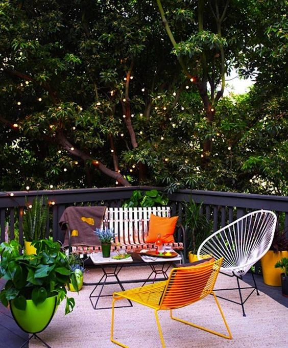 Mod LA Garden Patio by Ashe and Leandro